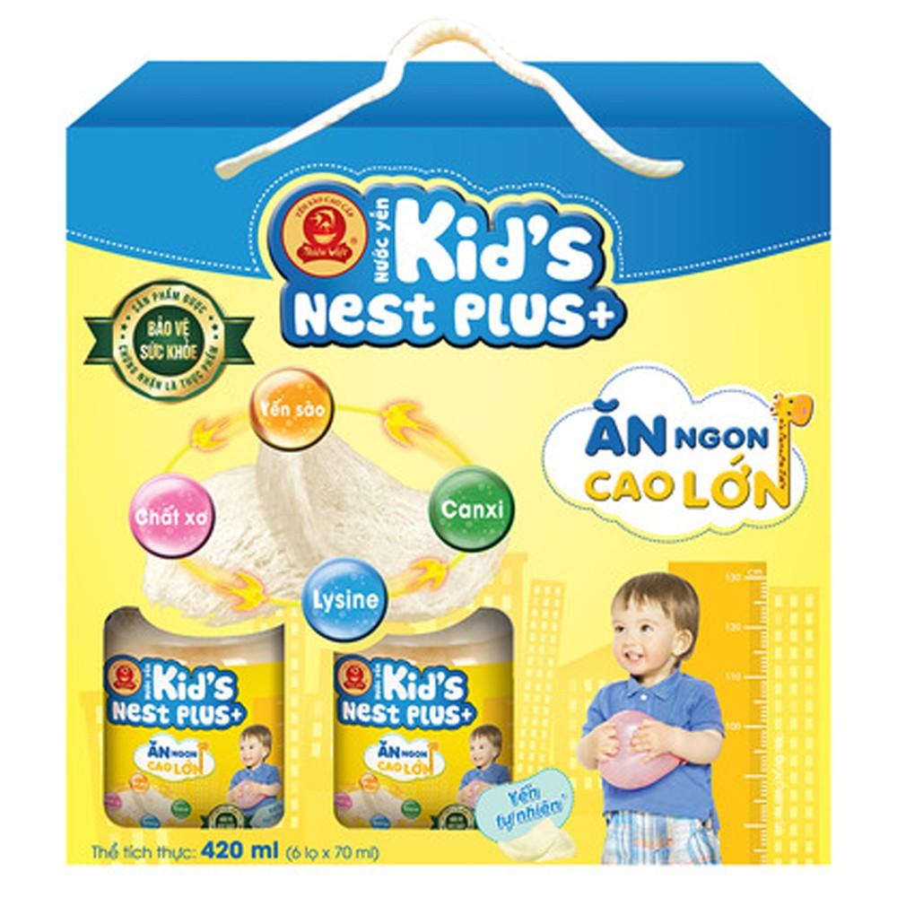 Yến Thiên Việt - Kids Nest Plus Lốc hương Tự nhiên1