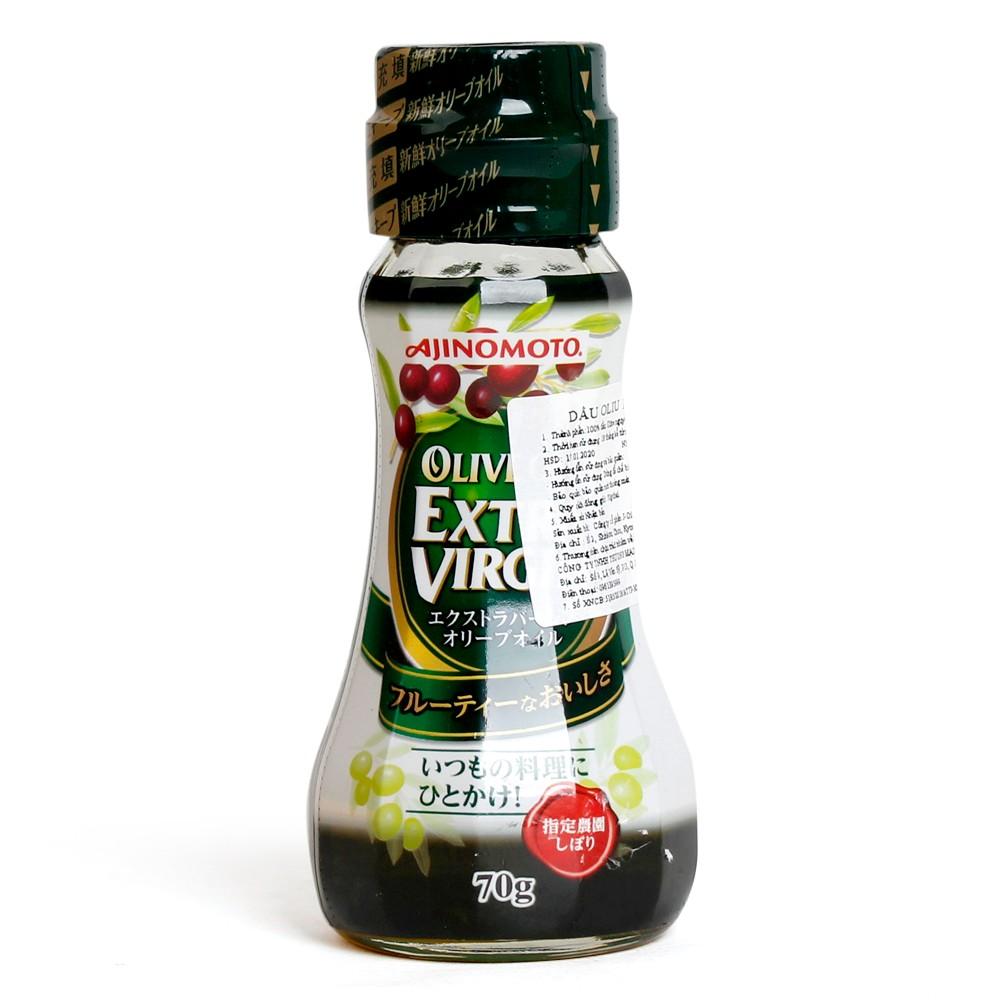 Dầu oliu extra virgin Ajinomoto, 70g1