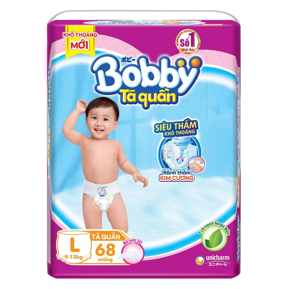 Tã Quần Bobby L 68 miếng