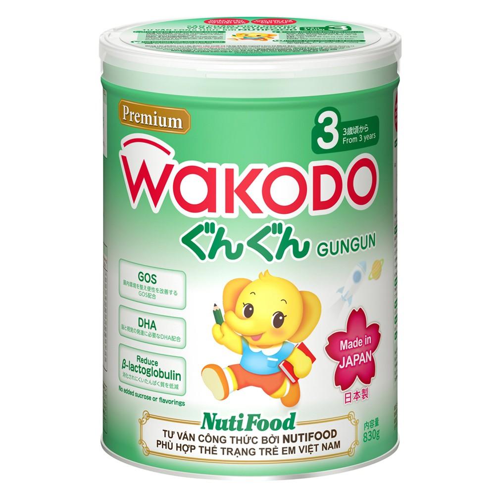 WAKODO GUNGUN 3, Từ 3 tuổi, 830g