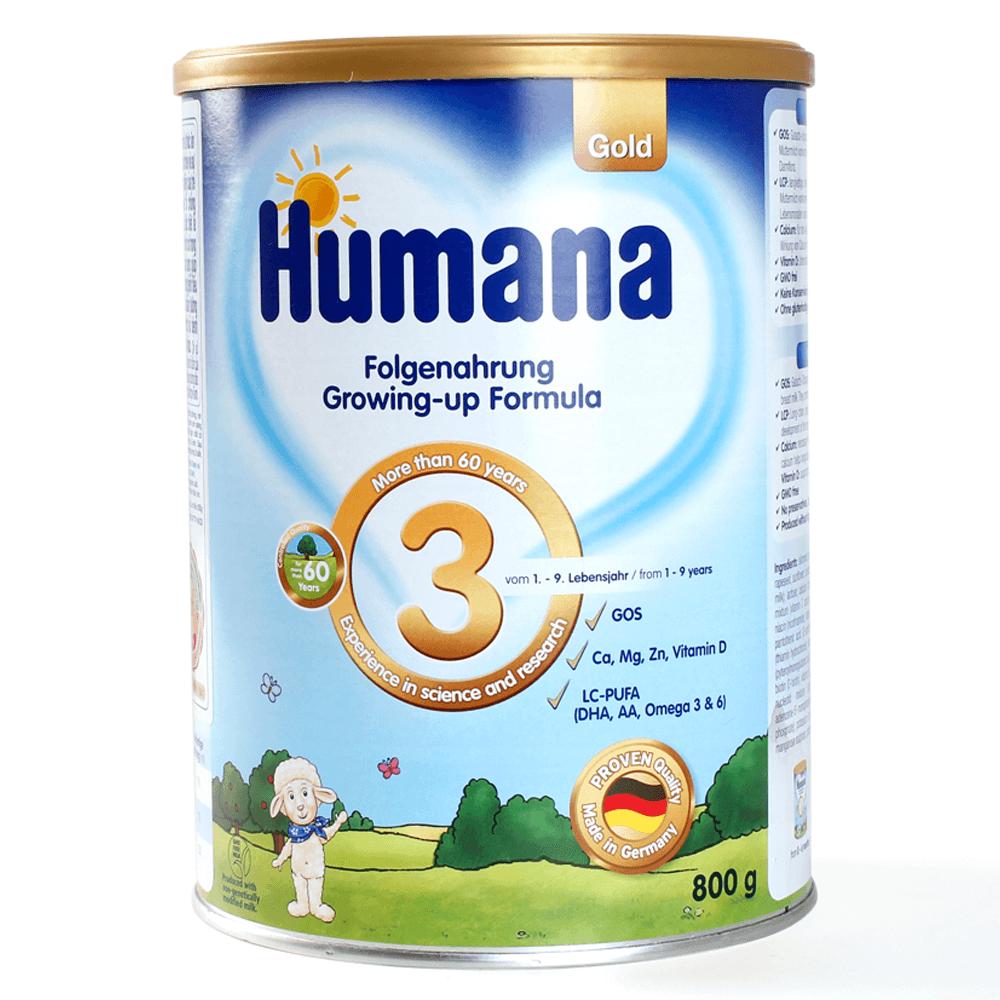 Humana Gold số 3, 800g1