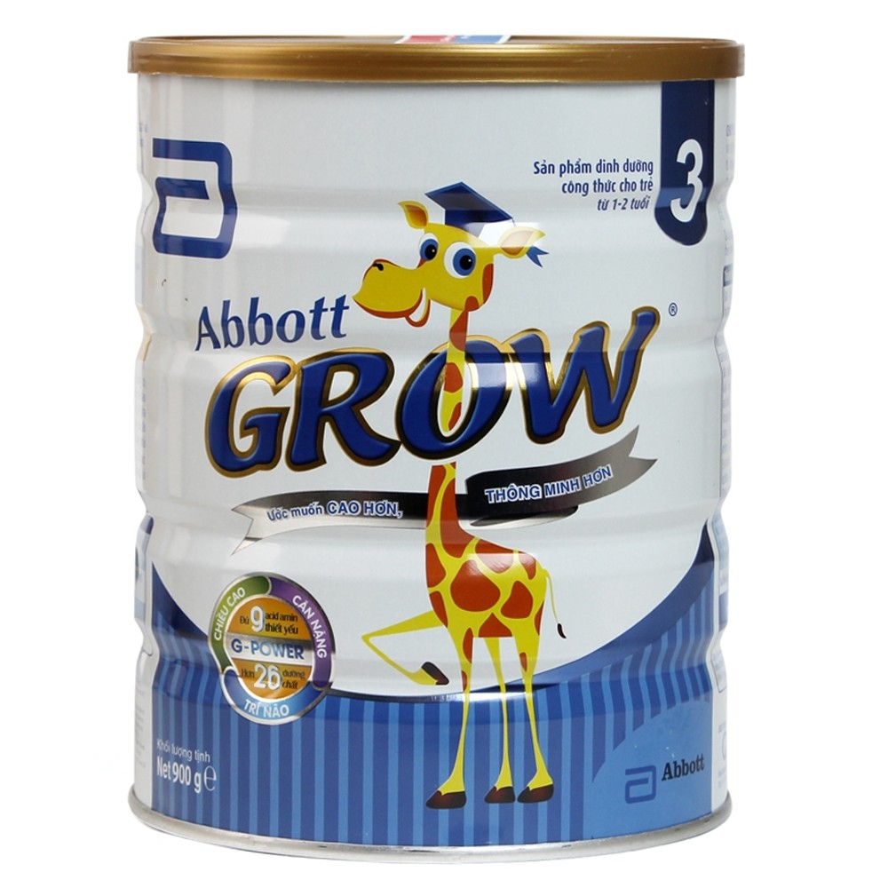 Abbott Grow 3 (G-Power) 900g