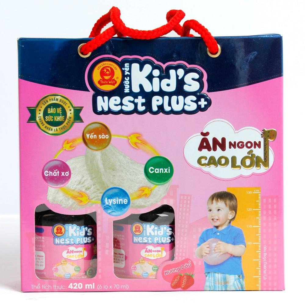 Yến Thiên Việt - Kids Nest Plus Lốc hương Dâu1