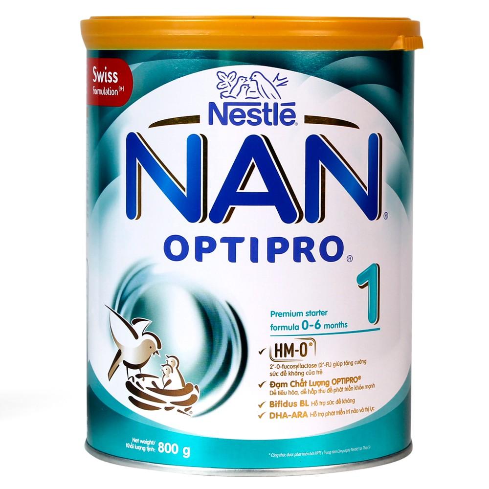 Nestle NAN Pro 1, 0-6 tháng, 800g_HMO.1