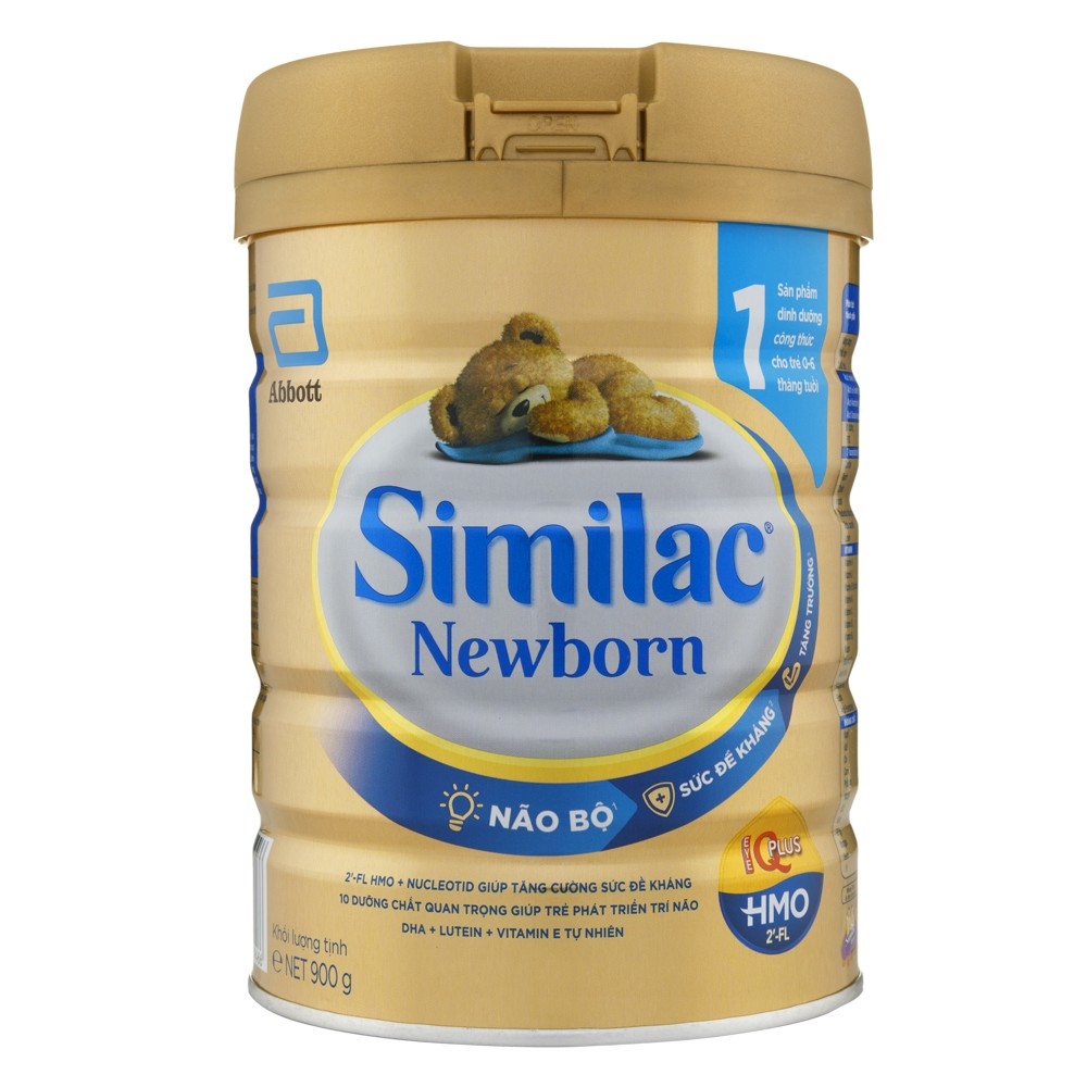 Similac Newborn IQ (HMO) 900g - Mới1