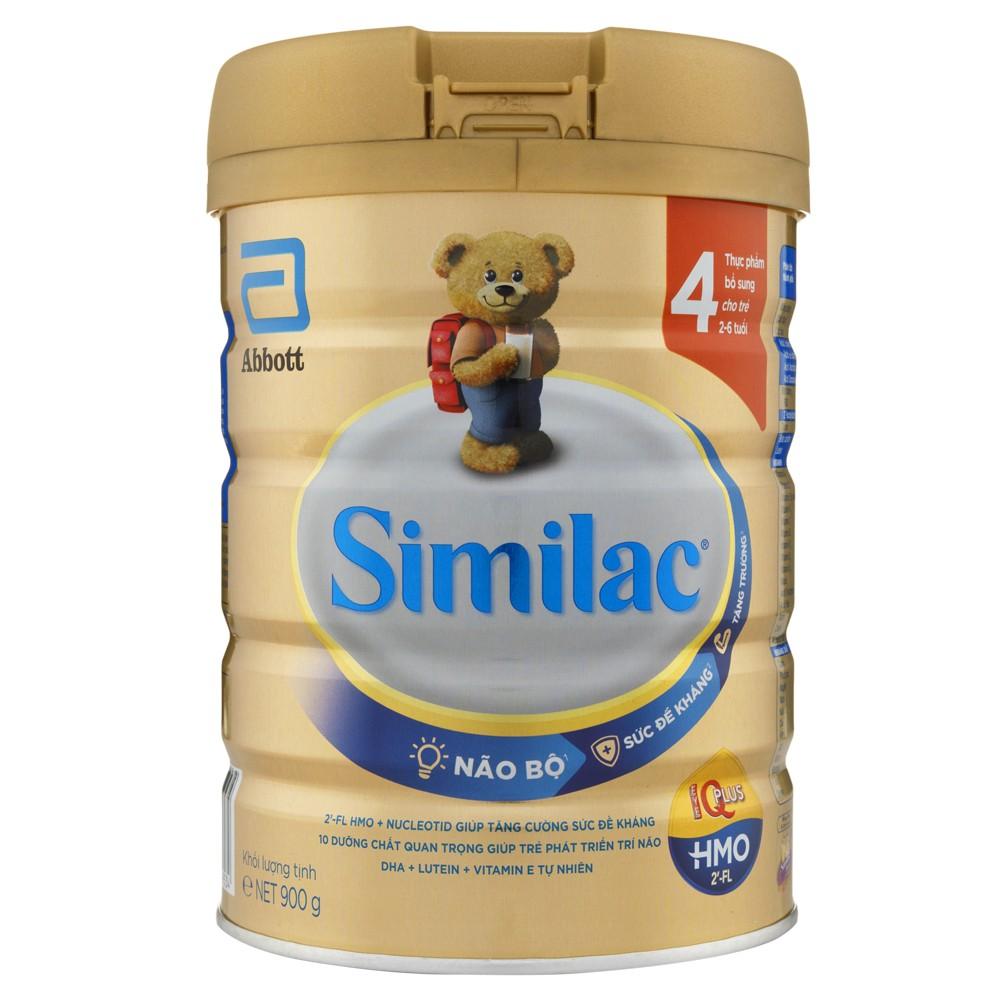 Similac IQ 4 (HMO) hương vani 900g - Mới1
