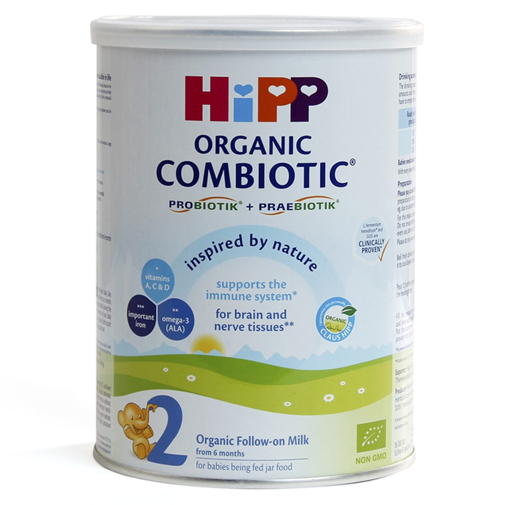 Hipp 2 Combiotic Organic Follow-on, 350g1