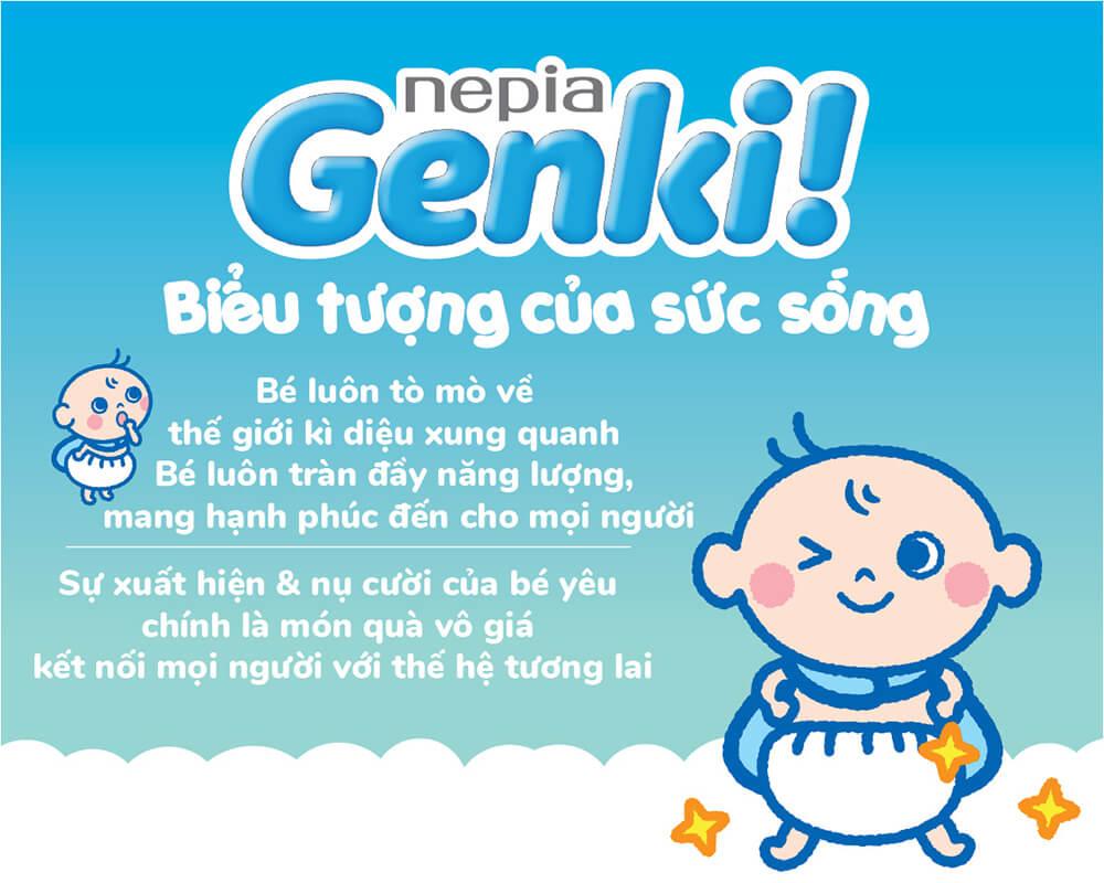 Tã dán Genki 02