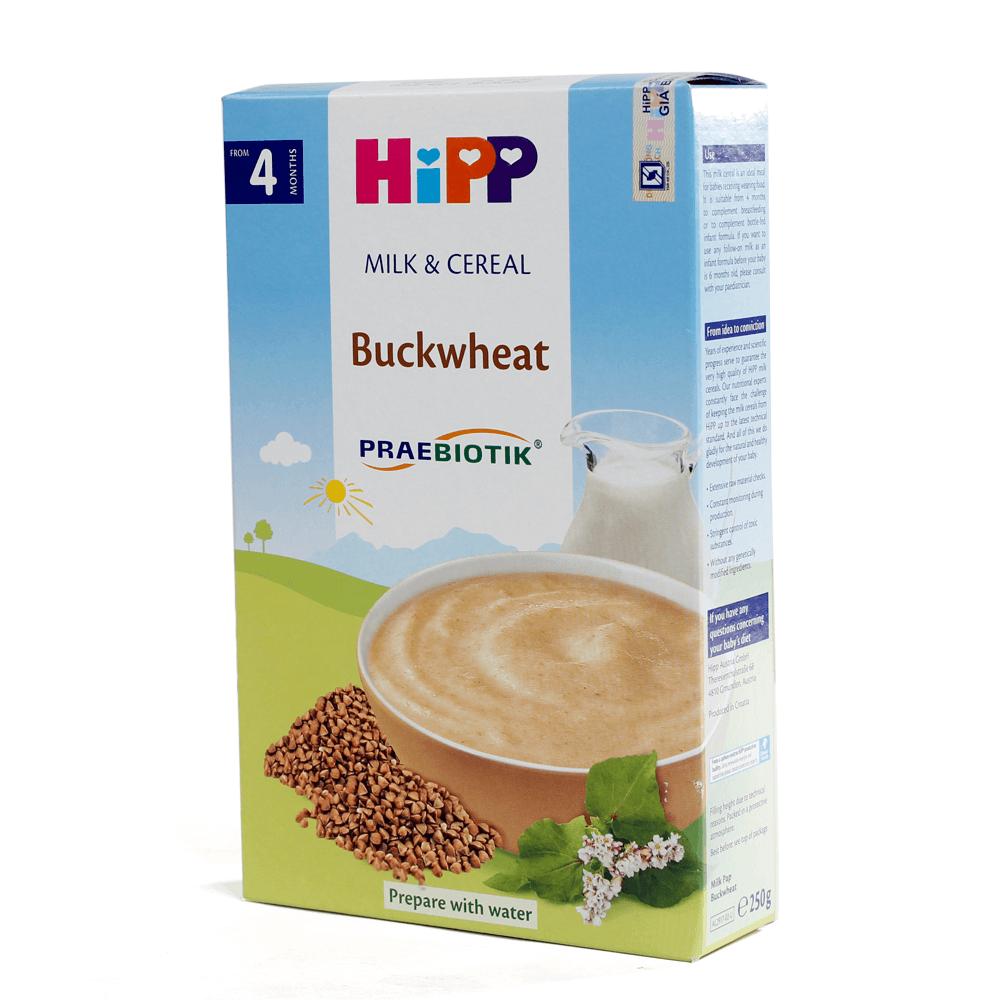 Bột sữa DD HiPP bổ sung Praebiotik - Bột ăn dặm kiều mạch 250g02