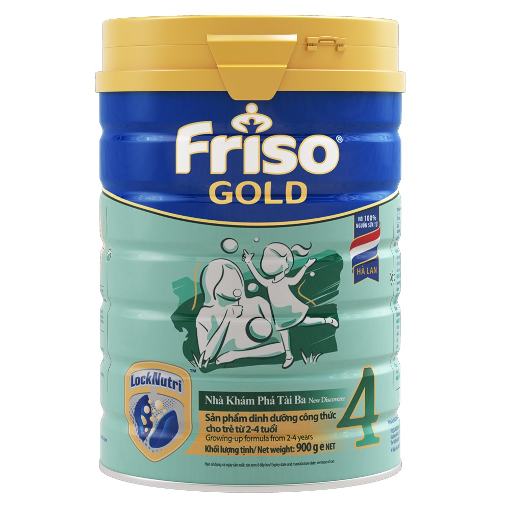Friso Gold số 4 Sunrise, 900g