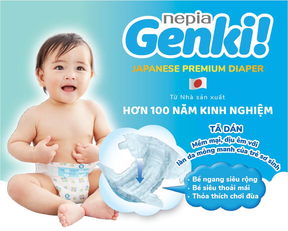 Tã dán Genki 01