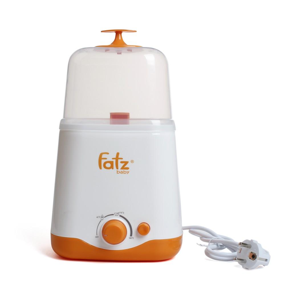 Máy hâm sữa đa năng  2 bình cổ rộng Fatzbaby1