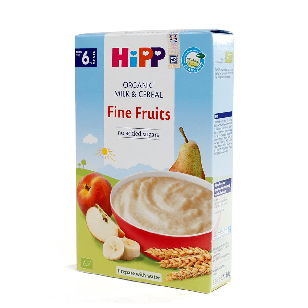 Bột sữa DD HiPP Organic - Hoa quả tổng hợp 250g02