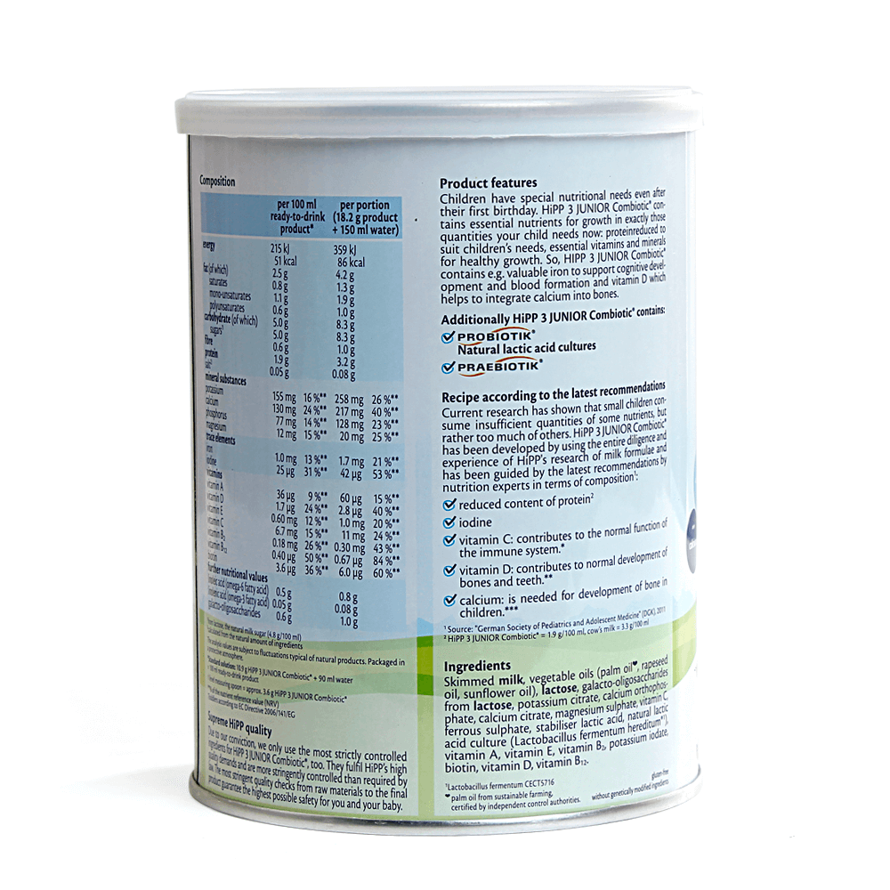 Hipp 3 Combiotic Organic Follow-on, 10-36 tháng, 350g03