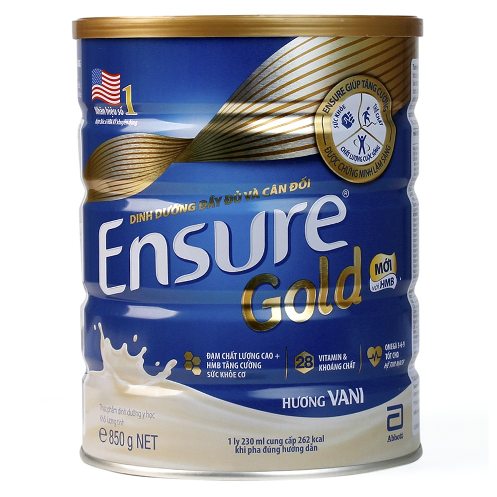 Ensure Gold HMB Hương Vani - 850g1