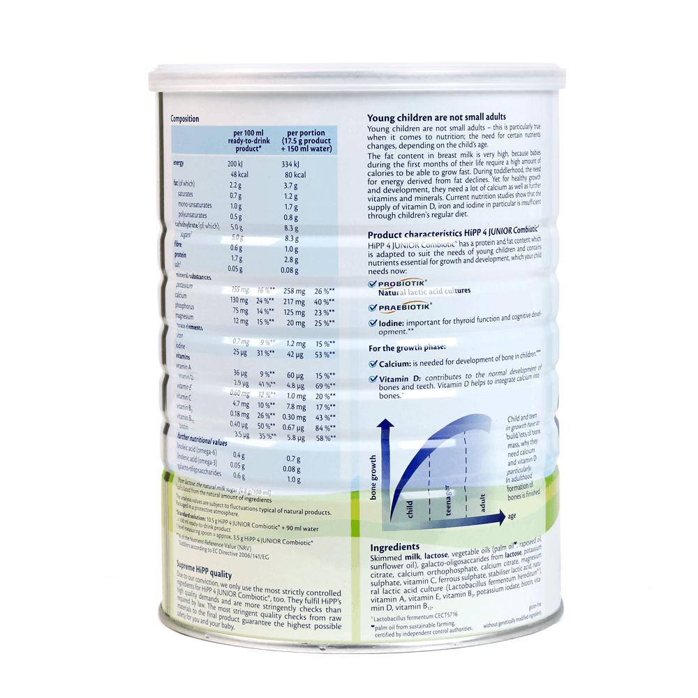 HiPP 4 Junior Combiotic 800g03